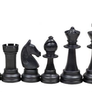 STAUNTON NR 6, kremowo-czarne, z filcem