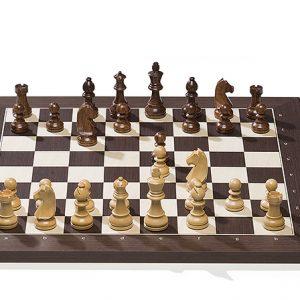 Bezprzewodowa elektroniczna deska szachowa DGT BlueTooth, Wenge