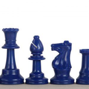 Granatowe bierki szachowe nr 6