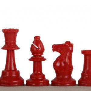 Czerwone bierki szachowe nr 6