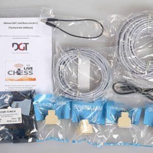 Zestaw kabli połączeniowych do pierwszej deski SMART BOARD w systemie turniejowym