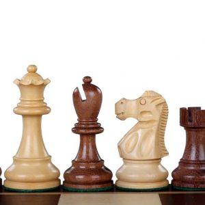 Figury szachowe Reykjavik Akacja/Bukszpan 3,5 cala