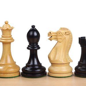 Figury szachowe Executive 3,75 cala Rzeźbione Drewniane