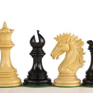 Figury szachowe Sunrise 4,25 cala Heban