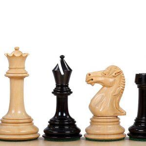 Figury szachowe Parthenon Heban 4 cale