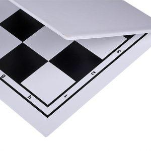 Składana, plastikowa deska szachowa, czarno - biała