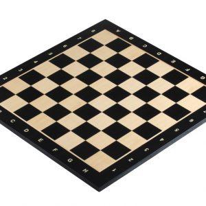 Deska szachowa nr 5 (z opisem) hebanizowana (intarsja)