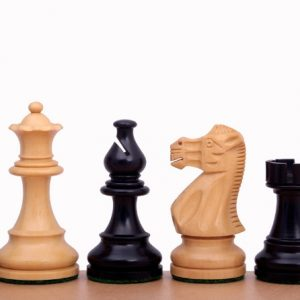 Figury szachowe American Classic 3,75 cala Rzeźbione Drewniane