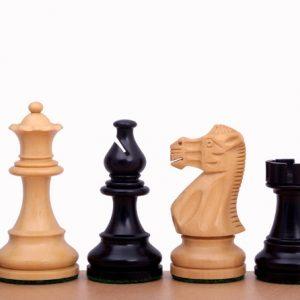 Figury szachowe American Classic 3 cale Rzeźbione Drewniane