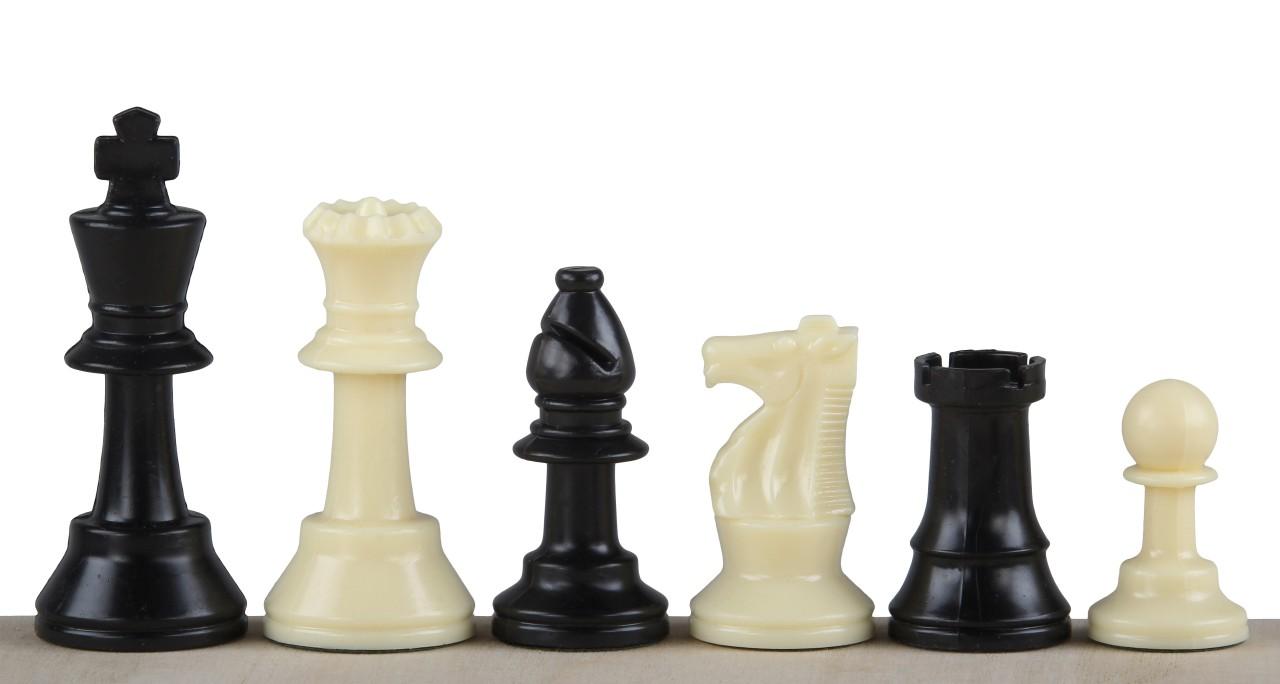 Figury szachowe nr 3 plastikowe
