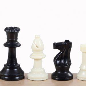 Figury szachowe nr 4 plastikowe