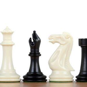 Figury szachowe nr 6 Exclusive, plastikowe, obciążane