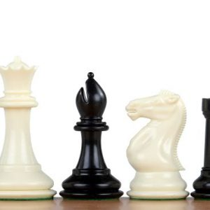 Figury szachowe nr 6 Exclusive, plastikowe obciążane
