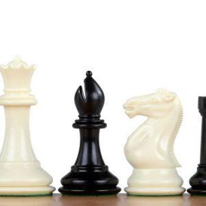 Figury szachowe nr 6 Exclusive, plastikowe
