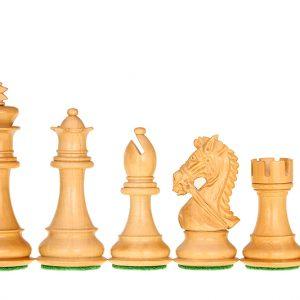 Figury szachowe King's Bridal Akacja/Bukszpan 4 cale