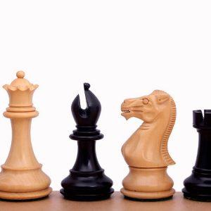 Figury szachowe Stallion 3,5 cala Rzeźbione Drewniane