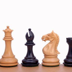 Figury szachowe Supreme 3,5 cala Rzeźbione Drewniane