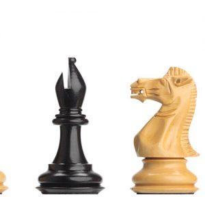 Figury szachowe DGT Ebony do desek elektronicznych - nieobciążane Rzeźbione Drewniane