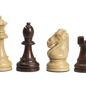 Figury szachowe DGT Royal do desek elektronicznych - nieobciążane Rzeźbione Drewniane