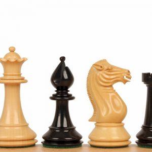 "Figury szachowe Pershing 4,25"" hebanowe"